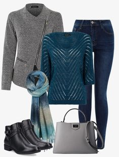 Look Casual Chic, Style Désinvolte Chic, Casual Looks, My Style, Look Fashion, Winter Fashion, Fashion Outfits, Womens Fashion, Fall Looks