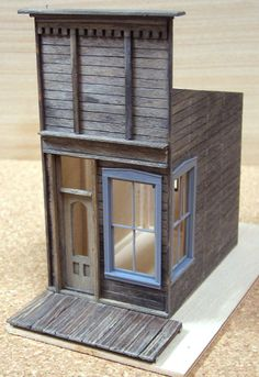 S-Scale - Dioramas - Model Railroad Forums - Freerails Tiny House, Old Western Towns, Minis, Model Training, Standard Gauge, Ho Trains, Model Train Layouts, Miniature Houses, Model Building