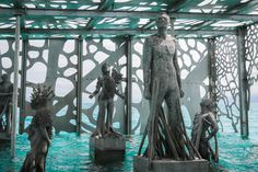 (1000+) Inoreader - The Coralarium: An Immersive Sculptural Installation Semi-Submerged in the Indian Ocean