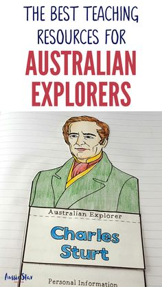 This outstanding range of Australian Explorers Teaching Resources are aligned with the Australian Curriculum and have been designed for your Year 5 HASS Australian History lessons. The activities in these resources are fun, hands-on and interactive and cover Captain Cook, Matthew Flinders, Charles Sturt, Burke and Wills, Ludwig Leichhardt, Paul Strzelecki, John Stuart, Edward Eyre and Blaxland, Lawson and Wentworth. Everything you need to teach this important topic is right here! Primary Teaching, Primary Classroom, Classroom Activities, Teaching Kids, Teaching Resources, Research Skills, Inspired Learning, Australian Curriculum, Teaching History