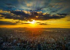 Sunset on Taipei 101 by jorisguilvout