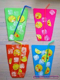 Rengarenk Buzlu Limonatalar - Önce Okul Öncesi Ekibi Forum Sitesi - Biz Bu İşi Biliyoruz