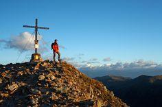 guided hiking tours to Königstuhl in the Nockberg area / Carinthia/Austria - Sporthotel Frühauf. Carinthia, Visit Austria, Hiking Tours, Central Europe, Sport, Alps, Mount Everest, Vacation, Mountains