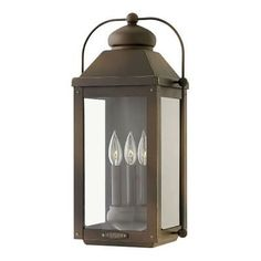 Hinkley Lighting 1855LZ 3 Light Outdoor Wall Sconce From the Anchorage Collectio