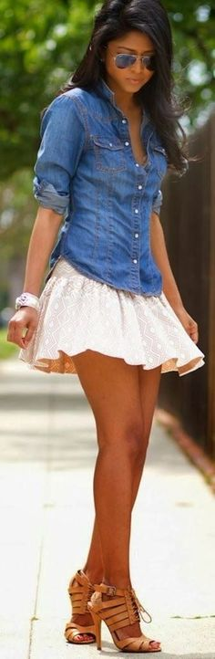 40 Simple And Cute Outfit Ideas | http://stylishwife.com/2014/10/simple-and-cute-outfit-ideas.html