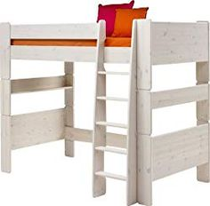 This single high sleeper bed extension kit from Wizard is made from sturdy, durable pine. Ideal for a growing family, it coverts a single bed into a high sleeper. Kid Beds, Bunk Beds, Loft Beds, Bed Extension, High Sleeper Bed, Simple Bed, Childrens Beds, Beds For Sale, Bed Mattress