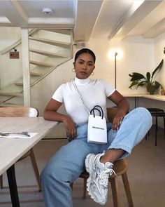 Image in Outfits 🛍 collection by Zoé on We Heart It Cute Casual Outfits, Summer Outfits, Girl Outfits, Fashion Outfits, Beach Outfits, Women's Casual, Fashion Trends, Black Girl Fashion, Look Fashion