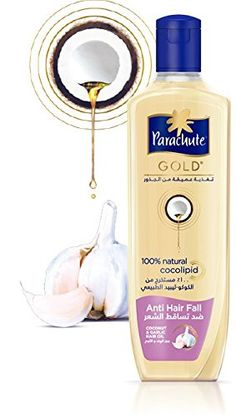 New Parachute Gold Coconut Hair OIl -Anti Hair Fall -200ml -- This is an Amazon Affiliate link. More info could be found at the image url.