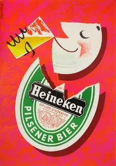 Heineken Beer ad 1953
