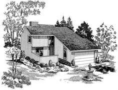 Main image for house plan # 17667