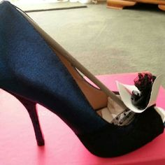 Betsey Johnson Bonnie Heels New never worn size 7 Betsey Johnson Shoes Heels