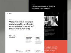Essence Case Study designed by Christopher Reath for ueno. Connect with them on Dribbble; the global community for designers and creative professionals. Webdesign Inspiration, Web Inspiration, Interface Web, Interface Design, Case Study Design, Identity, Page Design, Ui Design, Layout Design