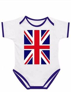 New baby #union jack england flag uk #onesie one #piece jumper sizes 0-18 m.o.,  View more on the LINK: 	http://www.zeppy.io/product/gb/2/111861967343/