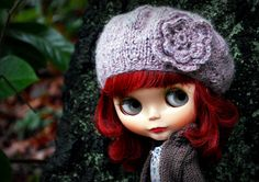 That hair color is cool / Blythe: love!