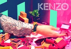 GIF #3 of our Fall/Winter 2014 campaign! - Kenzine, the Kenzo official blog