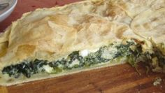 Spinach Pie with Filo Pastry