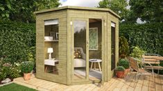 Image result for garden corner summer house