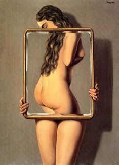 The Dangerous Liaison by Rene Magritte
