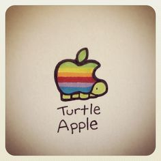 Turtle Apple #turtleadayjune - @turtlewayne- #webstagram