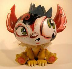 Miss Mindy: custom vinyl Toy