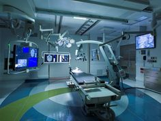 2013 AIA National Healthcare Design Awards Brigham and Womens Hospital Advanced Multimodality Image Guided Operating Room AMIGO Boston Payette Warren Jagger Photography Medical Design, Healthcare Architecture, Image Guide, Hospital Room, Hospital Design, H Design, Floor Design, Clinic Design, Arquitetura