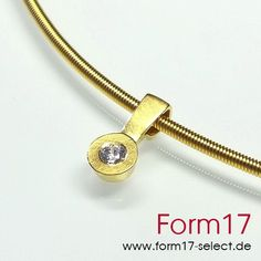 Gold 18K + Brillant - Form17 SchmuckManufaktur
