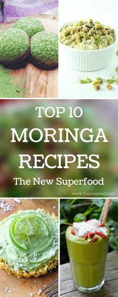 DIY Description Packed with vitamins and nutrients, Moringa is regarded as the new superfood. The leaves are rich in vitamin A, B, and C, Healthy Life, Healthy Snacks, Healthy Living, Healthy Recipes, Clean Recipes, Protein Recipes, Smothie, Moringa Powder, Superfood Recipes