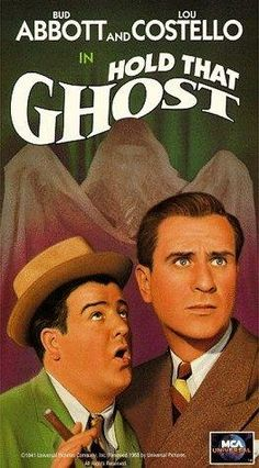 """Abbott and Costello in Hold That Ghost (1941)--My Favorite!! """"I was just playin' choo choo train"""""""