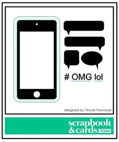 Scrapbook & Cards Today - an internationally read papercrafting magazine Silhouette Cutter, Silhouette Machine, Silhouette Files, Silhouette Studio, Silhouette Images, Silhouette Portrait, Scrapbook Cards, Scrapbook Layouts, Scrapbooking