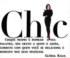 "De Ser ""CHIC"" / jahsaude"