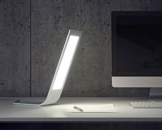 The OLED Desk Lamp is one of sleek formal function. Its lines are clean and minimal while illuminating the work surface seamlessly. Long gone are the ...
