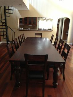 Amazing A Gallery Furniture Customer Thought This HTD Colonial Plantation Mango  Wood Dining Table Would Be Perfect