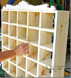 Great cubby diy--Inspired by Pottery Barn