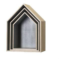 Wood Display Houses