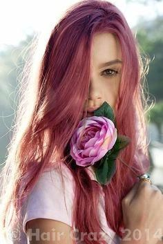 Dusty Rose Colored Hair - Forums - HairCrazy.com
