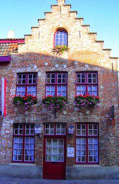 Brugges Cafe Print by keesandme