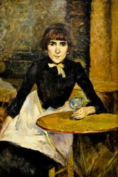 Henri De Toulouse-Lautrec - A la Bastille (Jeanne Wenz), 1888