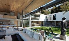 Großzügig gestaltetes Haus in Südafrika - http://wohnideenn.de/architektur/08/haus-in-sudafrika.html