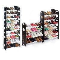 50/30Pair Shoe Rack Free Standing Adjustable Organizer Space Saving 10 Tier  D_L = 1946537604