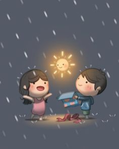 22 truly touching illustrations that perfectly summarize the life of a couple!