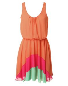 Have a dress like this! but diff colors in the bottom!