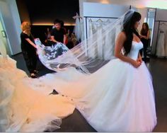 kims wedding dress