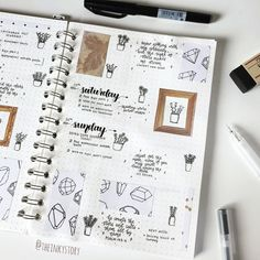 """544 Likes, 14 Comments - s • bujo, notes and more✨ (@theinkystory) on Instagram: """"27.11.17 • Hi, I hope you are all doing well! Here is part 2 of my Bujo spread from last week. Loll…"""""""