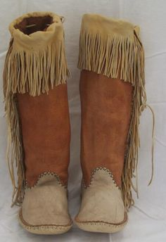 Apache style moccasins                                                       …