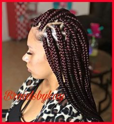 62 Box Braids Hairstyles with Instructions and Images - Hairstyles Trends Large Box Braids, Short Box Braids, Blonde Box Braids, Jumbo Box Braids, Braids For Black Hair, Box Braids Hairstyles, Pretty Hairstyles, Woman Hairstyles, Protective Hairstyles