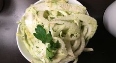 Fennel Slaw with a Mint Vinaigrette