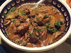 Slow Cooker Wild Mushroom Beef Stew