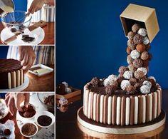 Anti Gravity Cake Recipe food cake delicious baking recipe recipes cake recipes food art dessert recipe dessert recipes food tutorials food tutorial