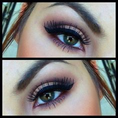 Pretty makeup (looks like naked 3 palette used)