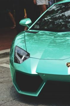 LAMBORGHINI. I'm obsessed  with the color.